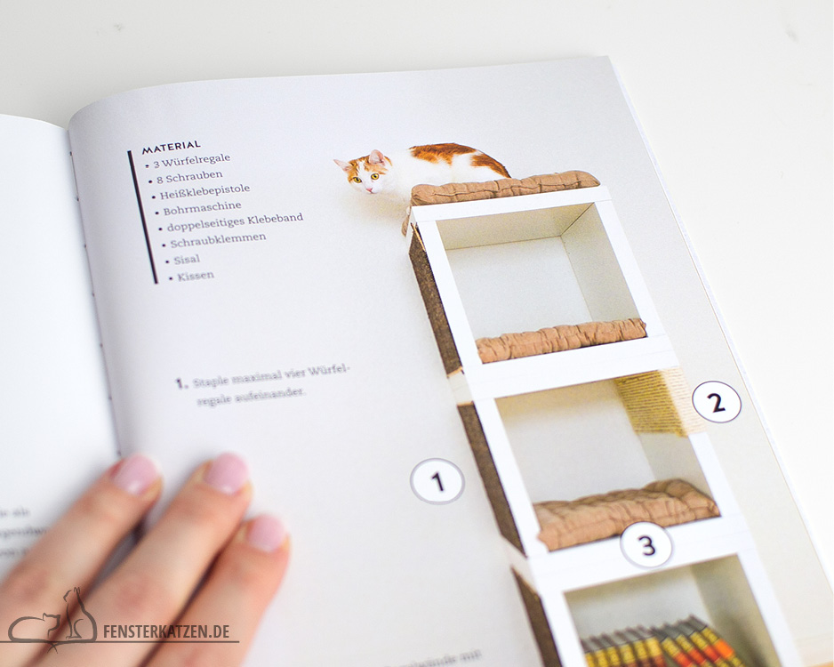 Fensterkatzen_Do-It-Yourself_Buch-Lifehacks-Katze_Turm